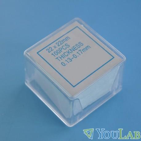 10 boites de lamelles couvre objet