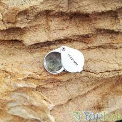 Loupe de géologue 10X